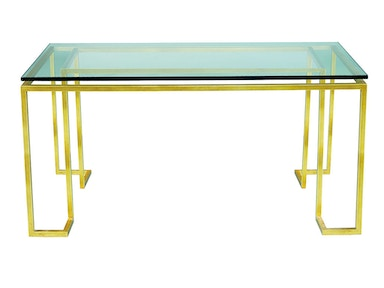 Lillian August for Hickory White Reid Console - Glass Top LA14317