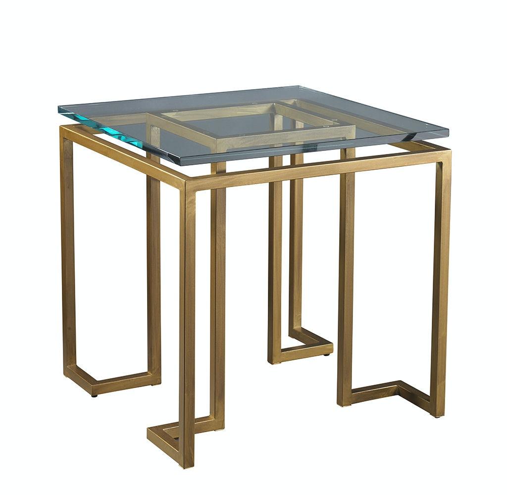 Lillian August For Hickory White Reid Side Table   Glass Top LNALA14319  From Walter E.