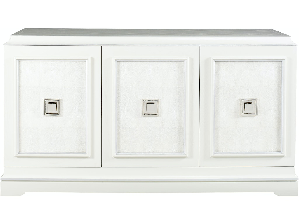 Lillian August for Hickory White Living Room Rand 3 Door Credenza ...
