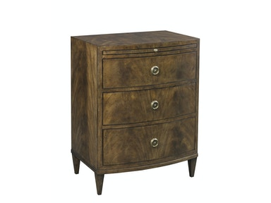 Lillian August for Hickory White Coventry Bowfront Nightstand LA15560-01