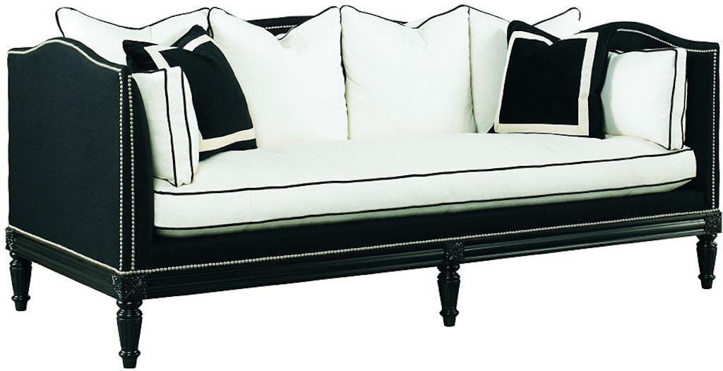 Lillian August For Hickory White Living Room Belvedere Sofa La2034s Noel Furniture Houston Tx