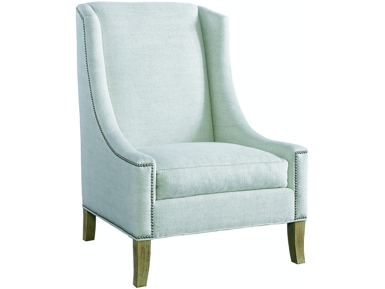 lillian august for hickory white living room fenwick chair