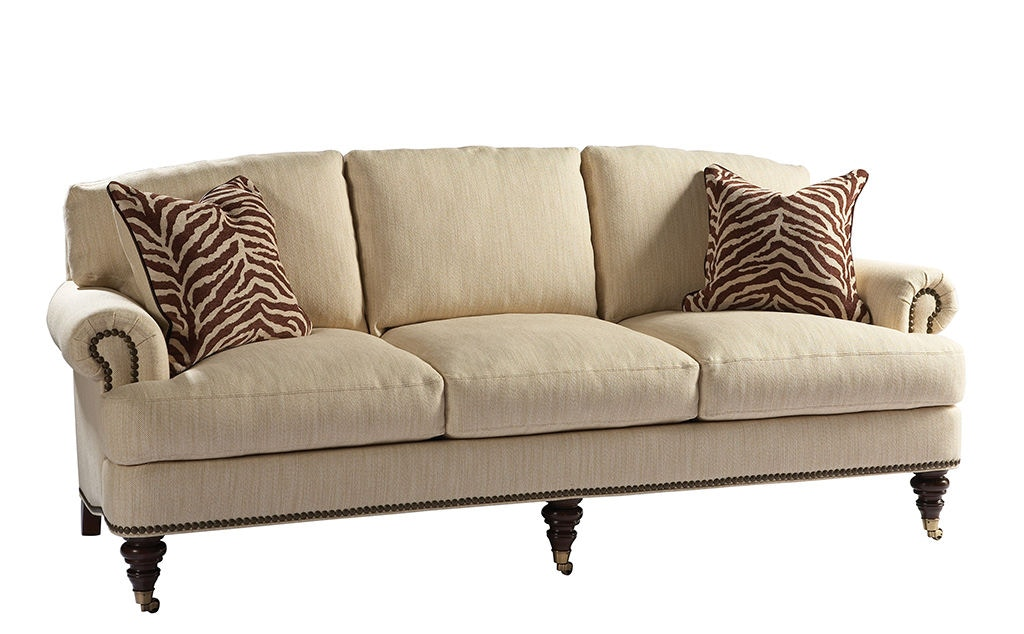 Lillian August For Hickory White Living Room Somerset Sofa LA7019S At  Stowers Furniture