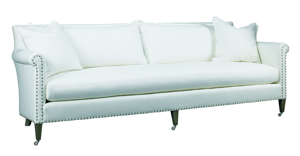 Beau Lillian August For Hickory White Paris Sofa LA7116S