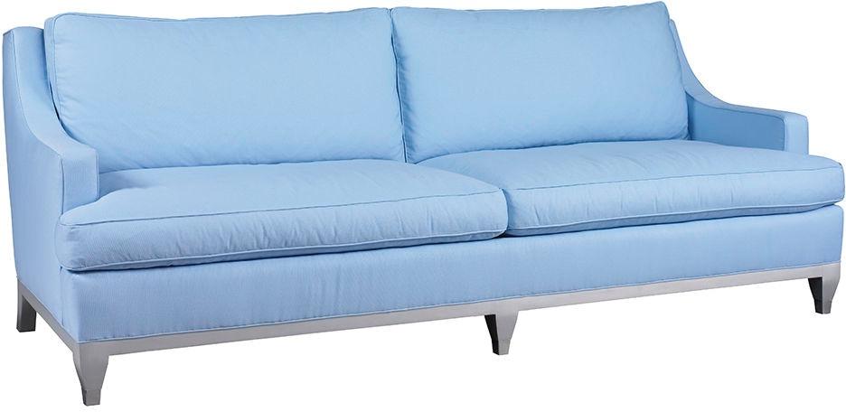 Lillian August For Hickory White Living Room Drake Sofa