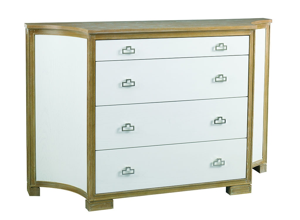 La Credenza On The Road : Hooker furniture sorella shaped credenza with concave side doors