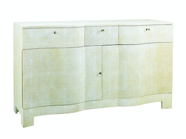Lillian August for Hickory White Louis Shagreen Serpentine Chest LA98531-01