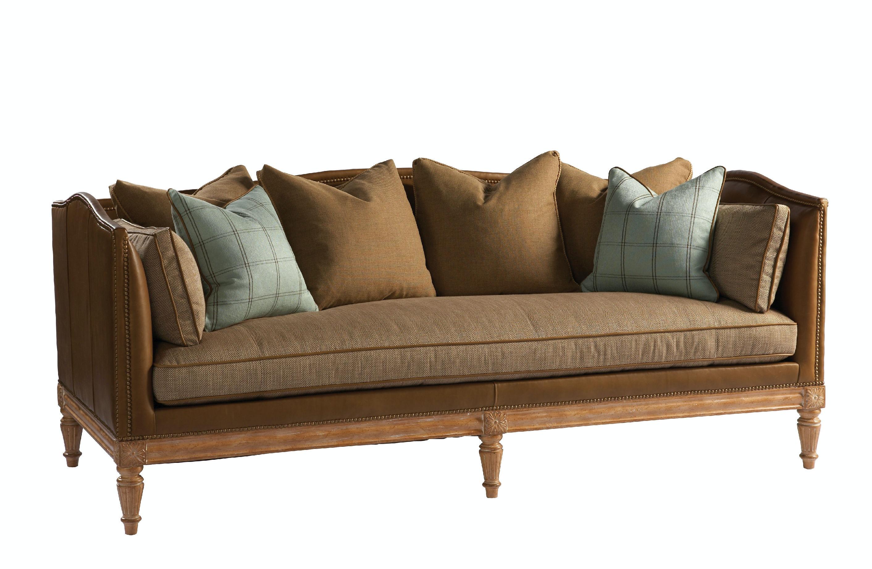 Lillian August For Hickory White Belvedere Sofa LNALL2034S From Walter E.  Smithe Furniture + Design