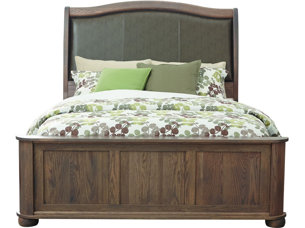 Palettes by winesburg bedroom upholstered bed with low for Furniture anchorage