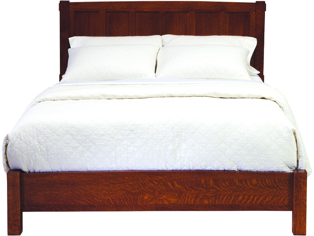 Palettes By Winesburg Bedroom American Craftsman Panel Bed