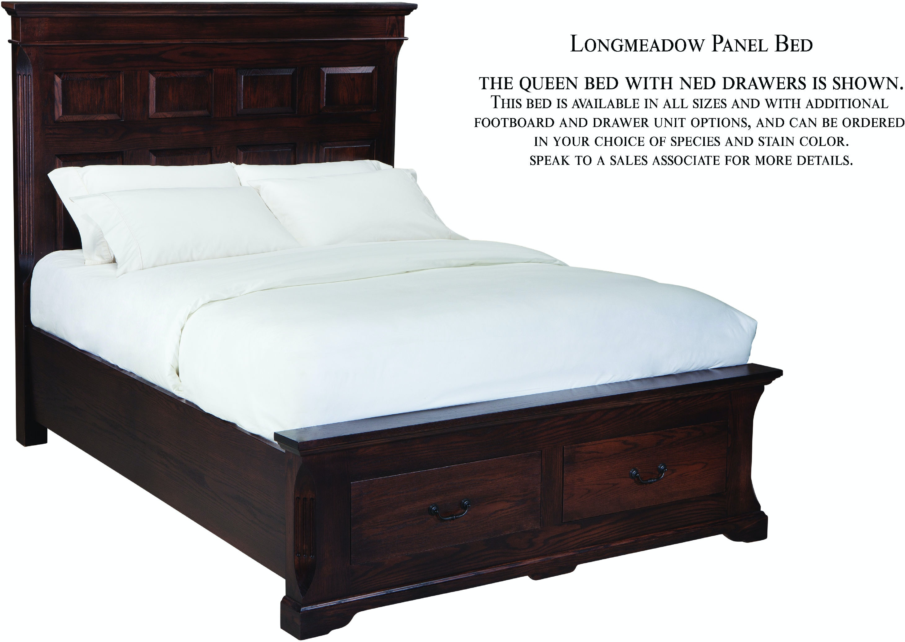 bed side table palettes by winesburg bedroom panel bed with drawers on 11473