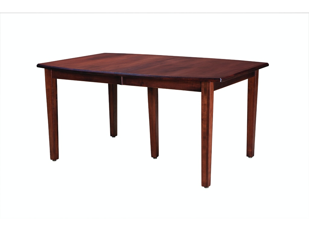 Palettes by winesburg dining room boat shaped table top for Furniture okay