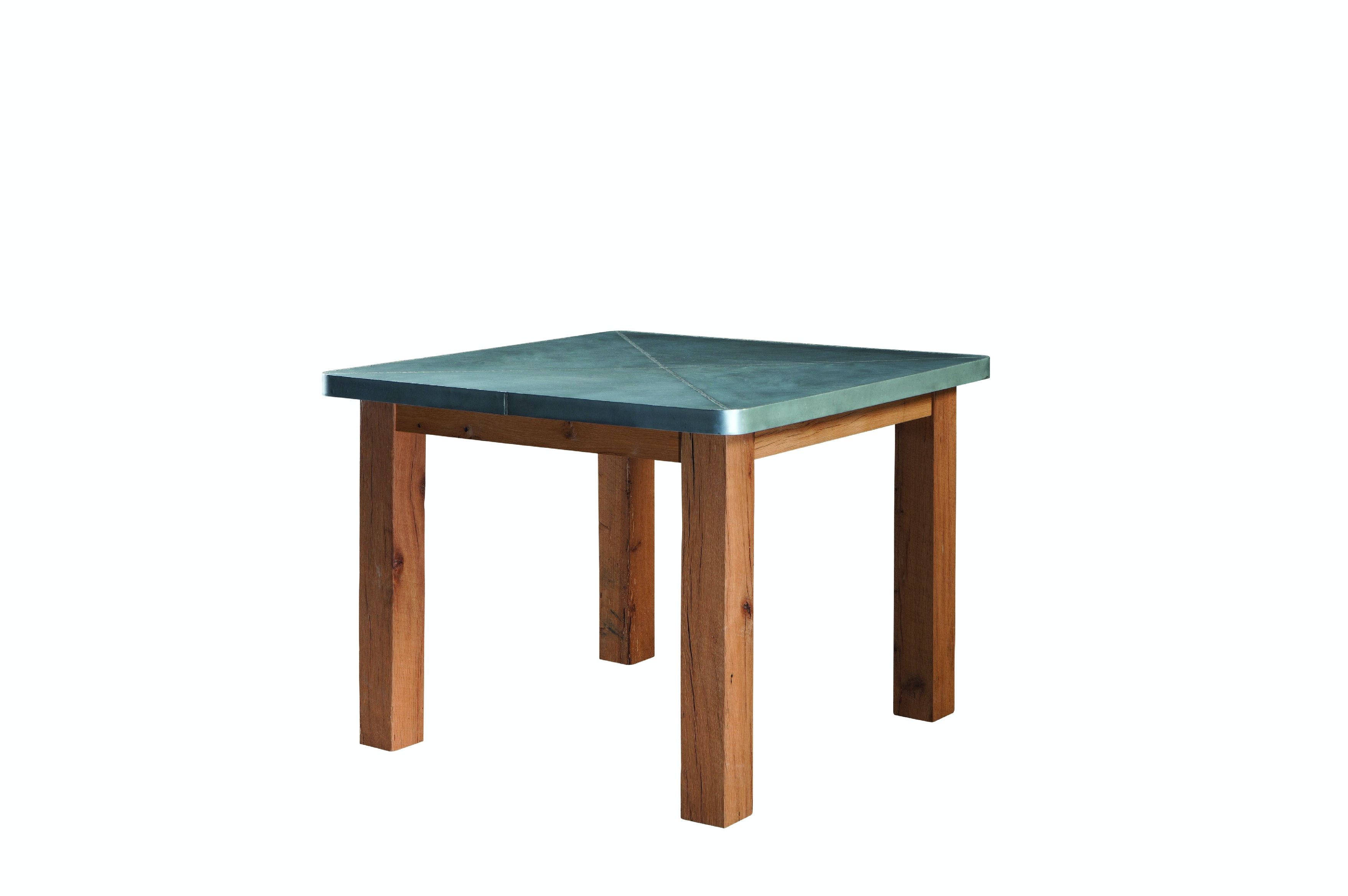 palettes by winesburg dining room square zinc table top 4848sqzi rh whitleygalleries com