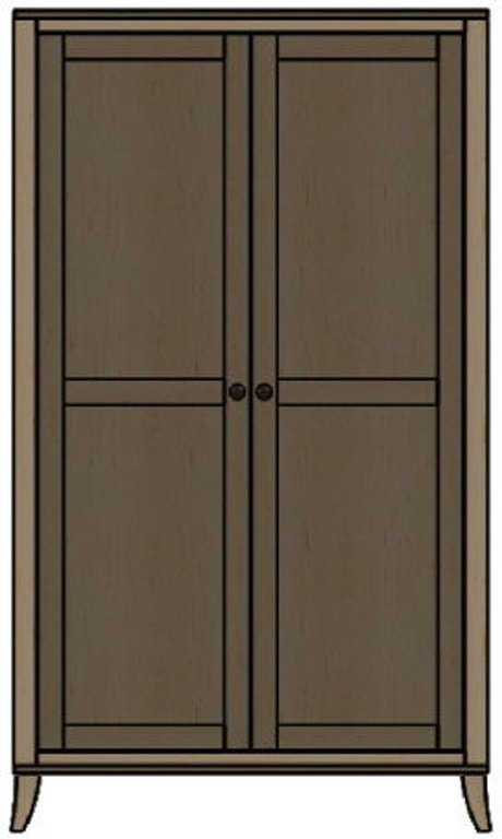 palettes by winesburg bedroom wardrobe 10253 art sample. Black Bedroom Furniture Sets. Home Design Ideas