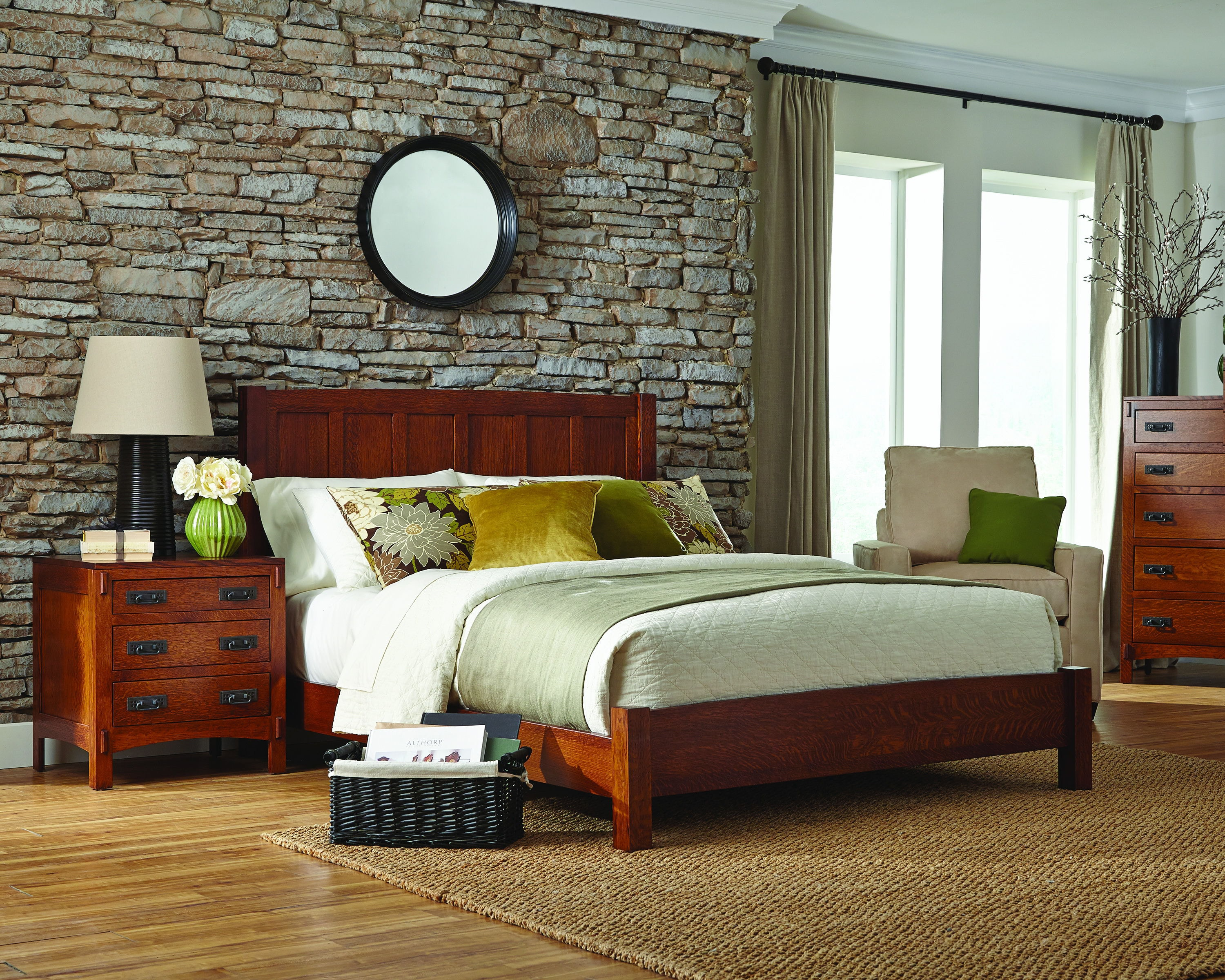 palettes furniture. American Craftsman Panel Bed With Low Footboard Palettes Furniture