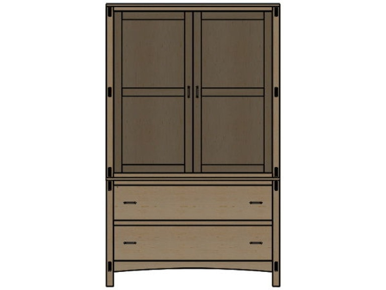 Palettes By Winesburg Bedroom Armoire 2 09255 At Kensington Furniture And Mattress