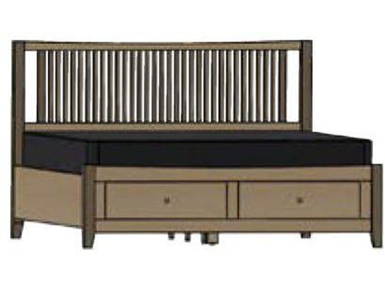 Swell Palettes By Winesburg Bedroom Atwood Spindle Bed With Inzonedesignstudio Interior Chair Design Inzonedesignstudiocom