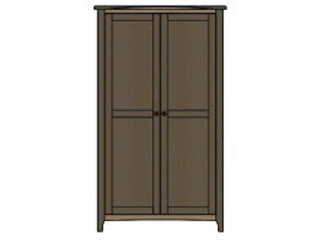 palettes by winesburg bedroom wardrobe 1 08253 brashears. Black Bedroom Furniture Sets. Home Design Ideas
