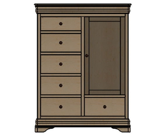 palettes furniture. Palettes By Winesburg Chifferobe 1 02256 Furniture A