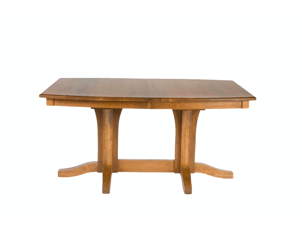 Palettes by winesburg dining room boat shaped table top for Best shaped table for small dining room