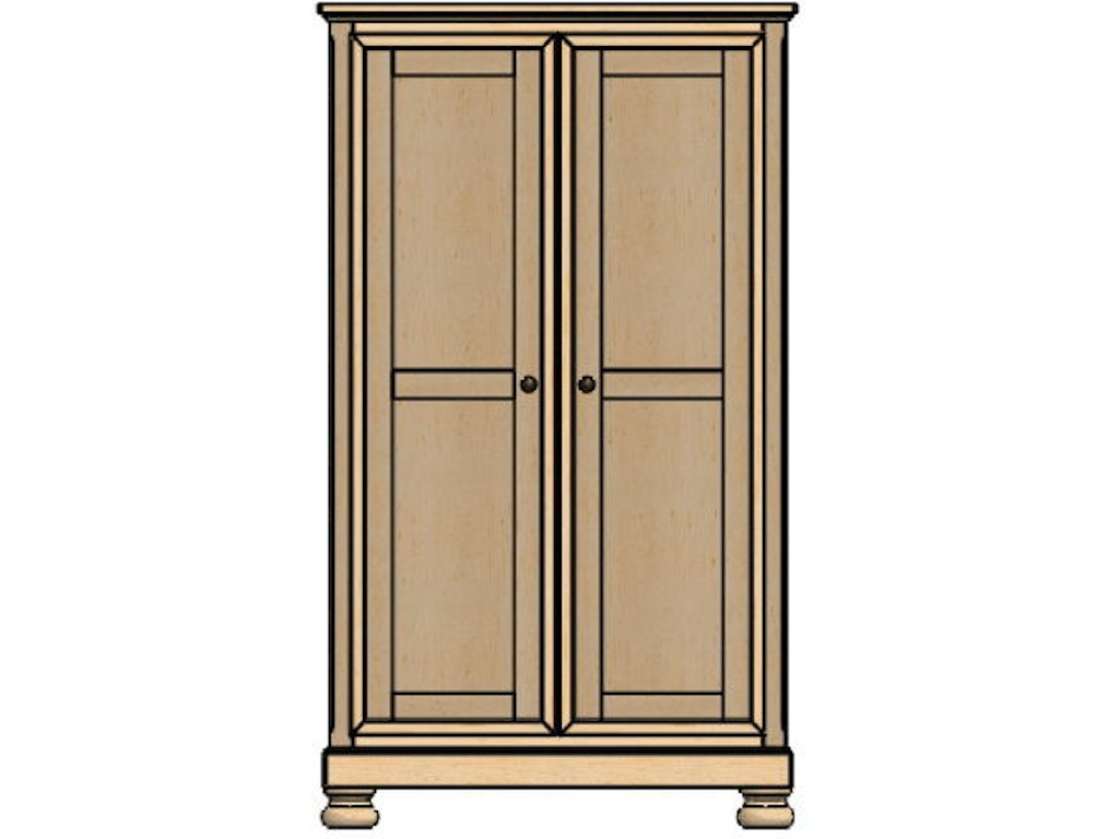 palettes by winesburg bedroom wardrobe 1 12253 art. Black Bedroom Furniture Sets. Home Design Ideas