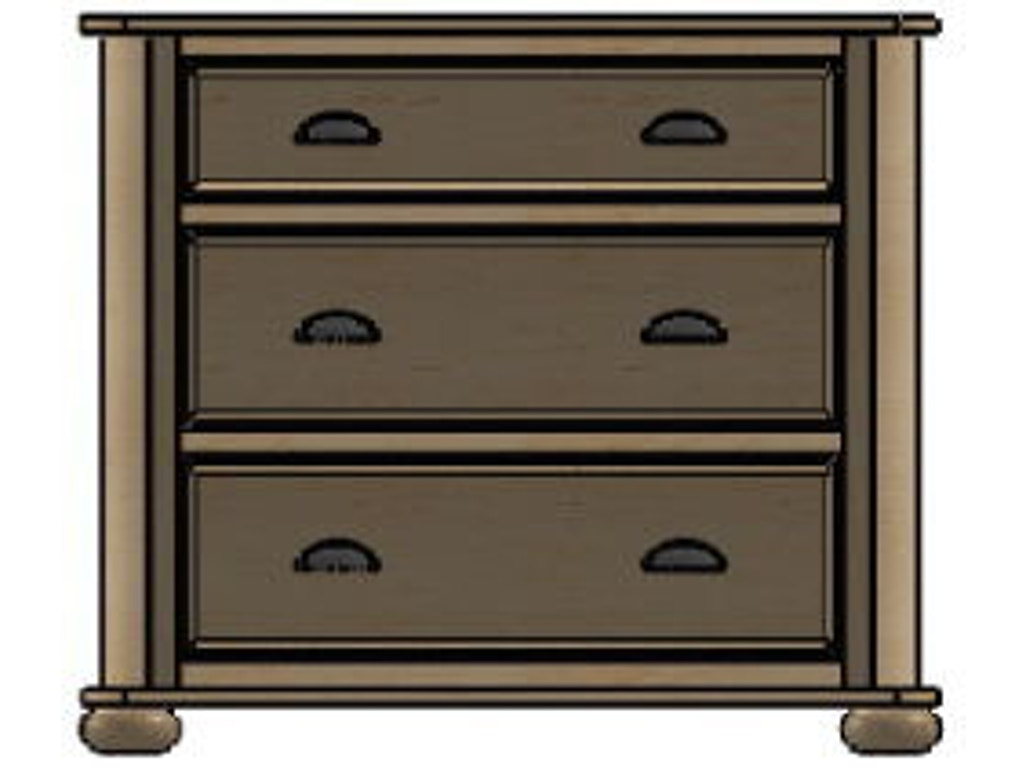 Palettes By Winesburg Bedroom Chest 1 03260 Whitley Furniture Galleries Raleigh Nc