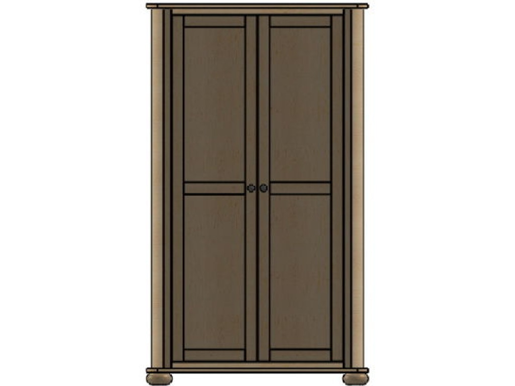 palettes by winesburg bedroom wardrobe 1 03253 brashears. Black Bedroom Furniture Sets. Home Design Ideas