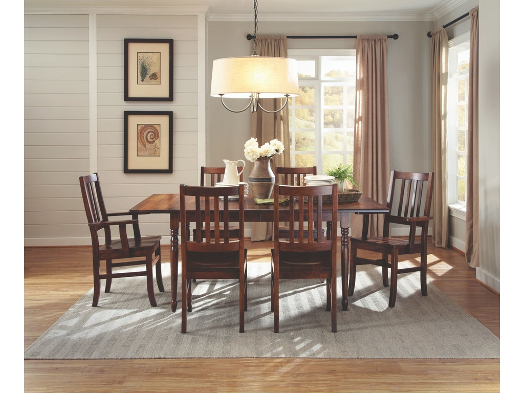 palettes by winesburg dining room drop leaf table 4230dl2