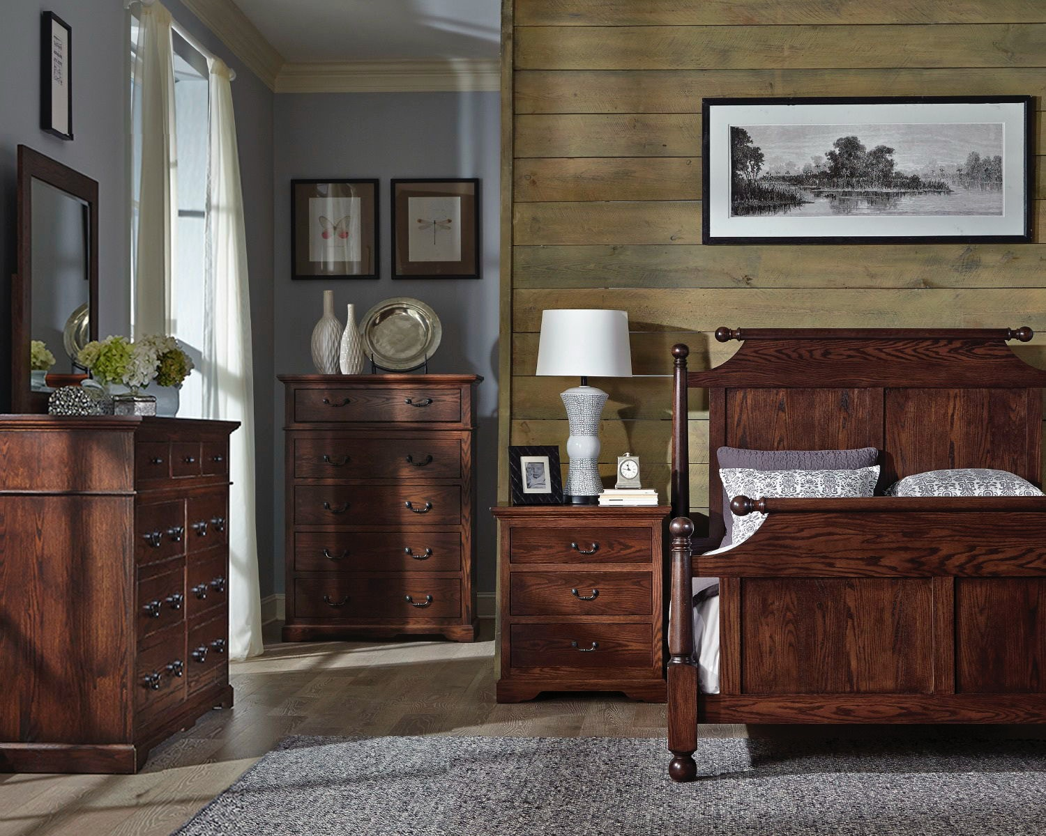 Longmeadow Cannonball Bed With Both Side Drawers
