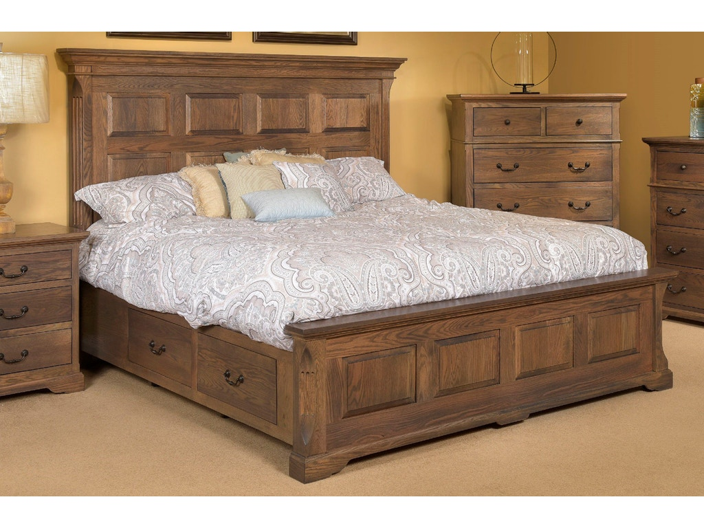 Palettes by winesburg bedroom panel bed with low footboard for K furniture mattress