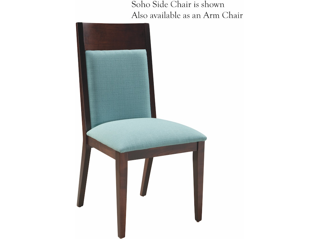 Palettes By Winesburg Dining Room Soho Arm Chair Soh3902 Treeforms Furniture Gallery