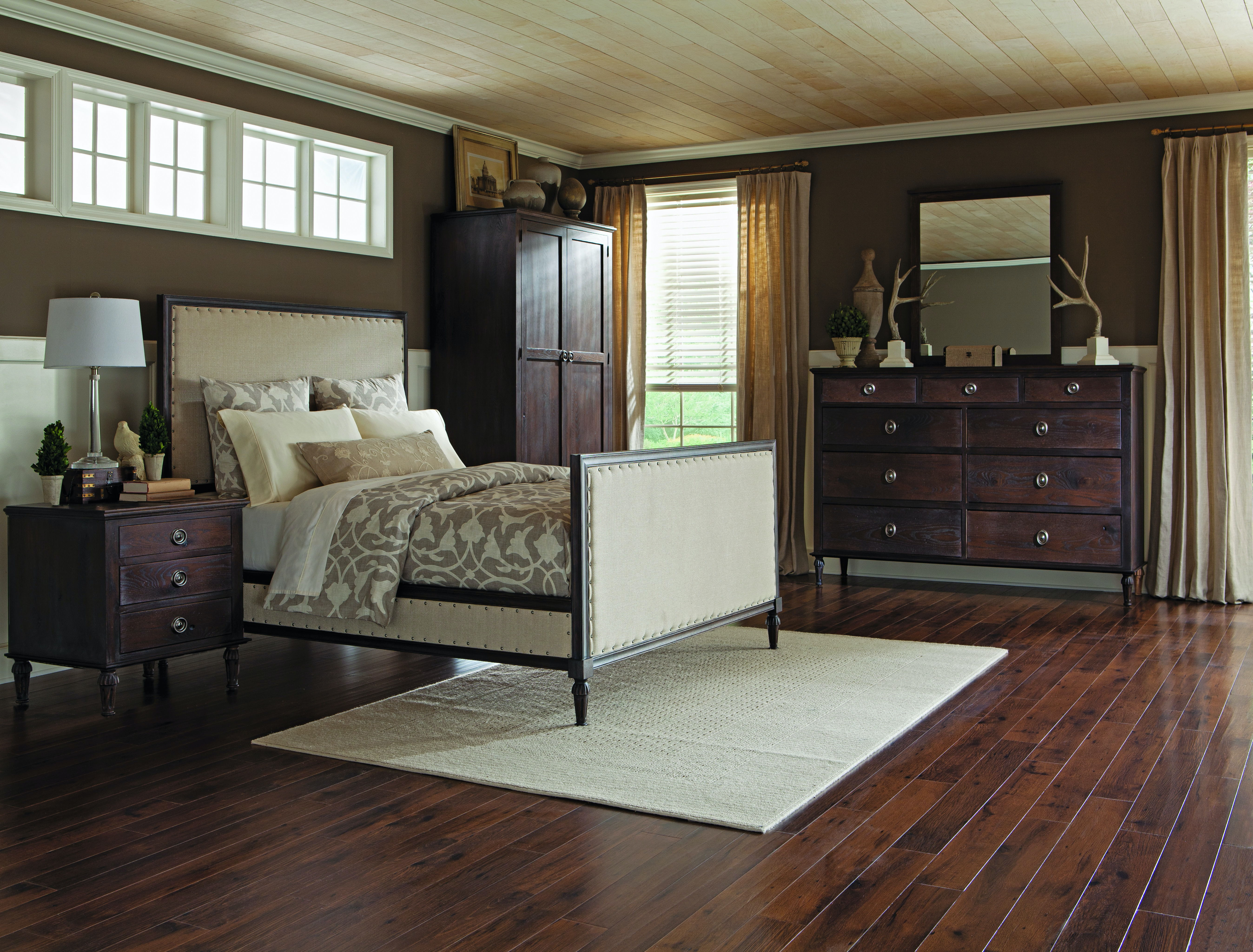 Palettes By Winesburg Upholstered Bed With Both Side Drawers Southampton  Upholstered Bed With Both Side Drawers