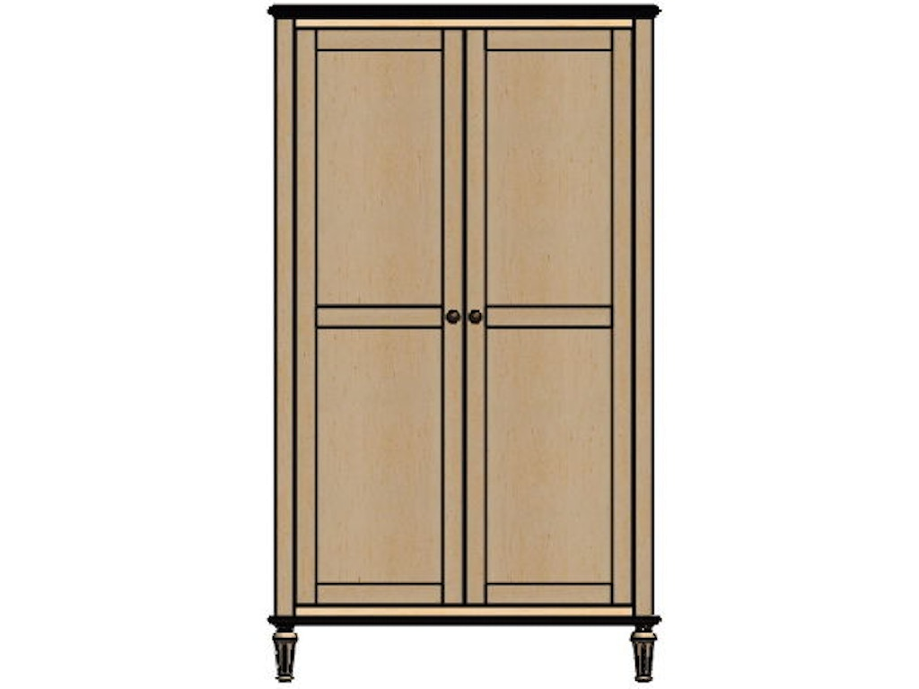 palettes by winesburg bedroom wardrobe 1 07253 good 39 s. Black Bedroom Furniture Sets. Home Design Ideas