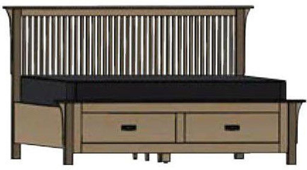 Superb Palettes By Winesburg Bedroom American Craftsman Spindle Bed Inzonedesignstudio Interior Chair Design Inzonedesignstudiocom