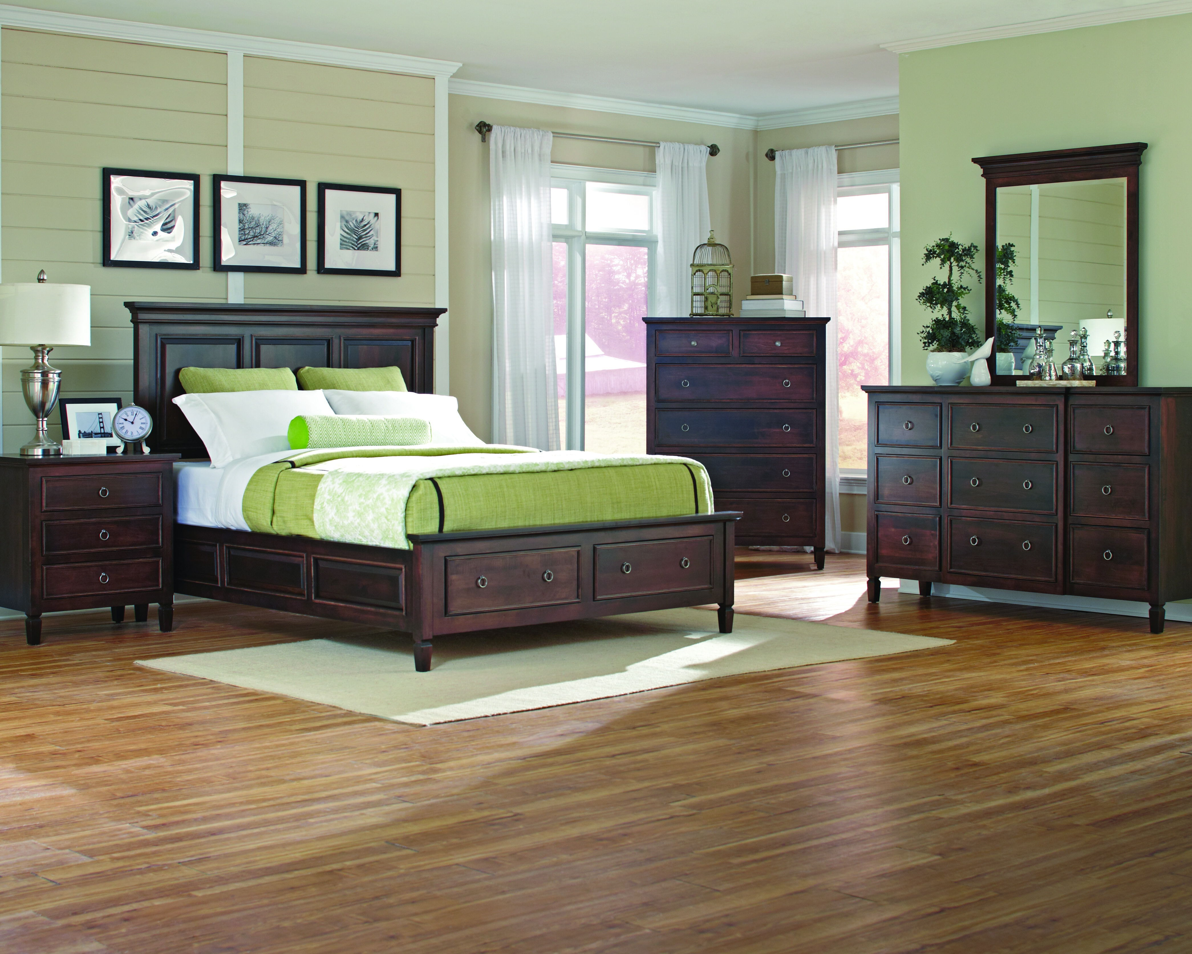 Palettes By Winesburg Vineyard Haven Panel Bed With Low Footboard From  Walter E. Smithe Furniture