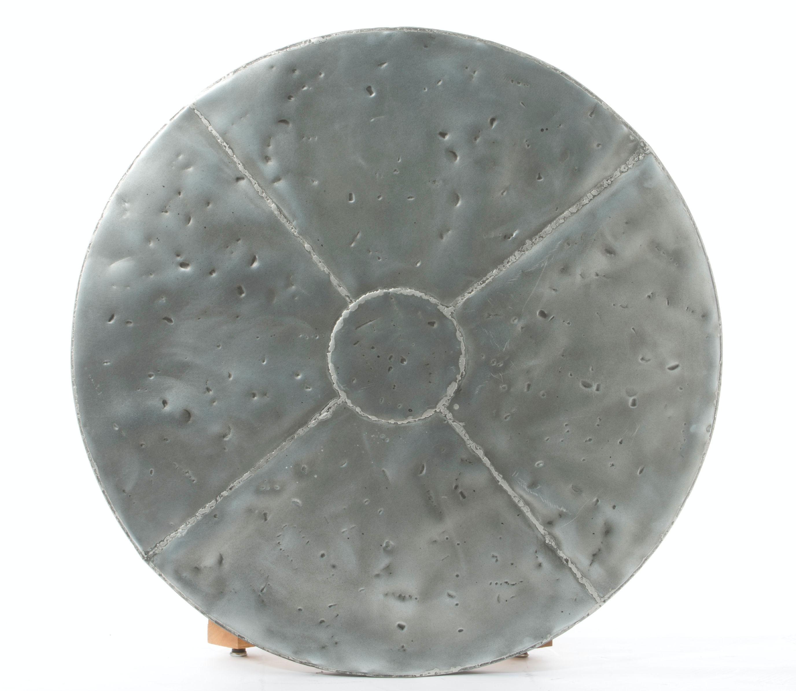 Palettes By Winesburg Round Zinc Table Top 4242ZI