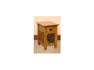 YUTZY WOODWORKING Chairside Table 1057