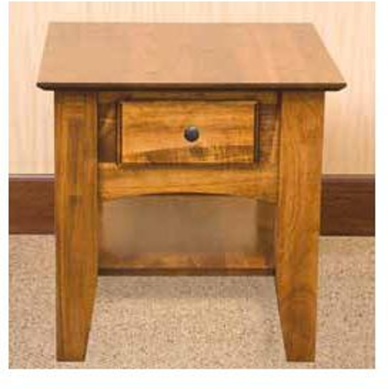 Yutzy Woodworking Living Room End Table 1767 Good S