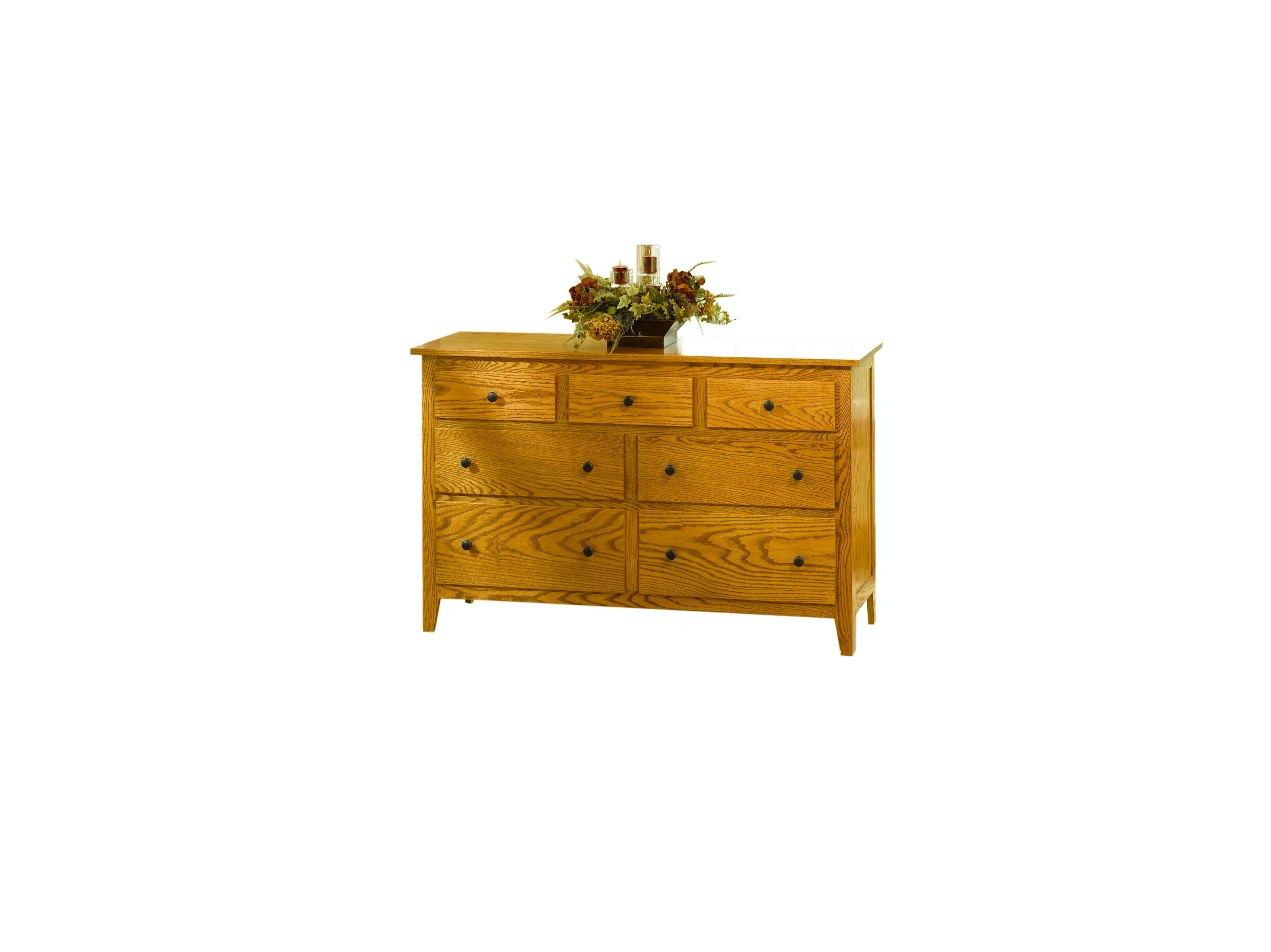 YUTZY WOODWORKING Jamestown Square Dresser 56001