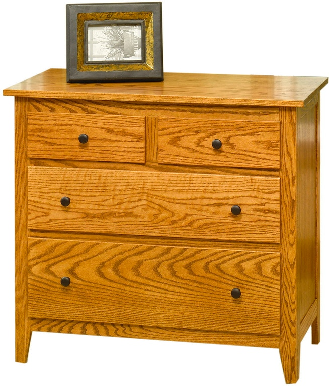 Yutzy Woodworking Bedroom Jamestown 4 Drawer Chest 56023