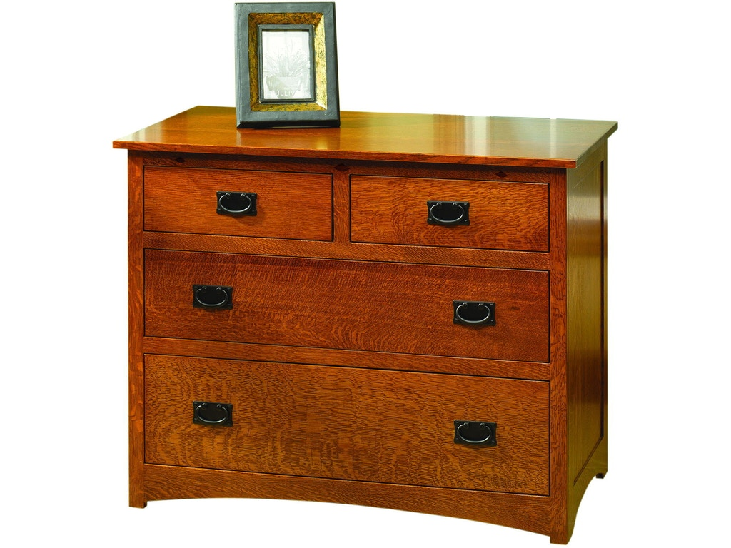 Yutzy woodworking bedroom prairie home 4 drawer chest for Bedroom furniture raleigh nc