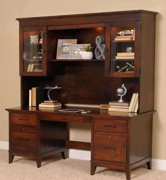 Superieur YUTZY WOODWORKING Hutch Top For 72 Inches Desk/Credenza 88154