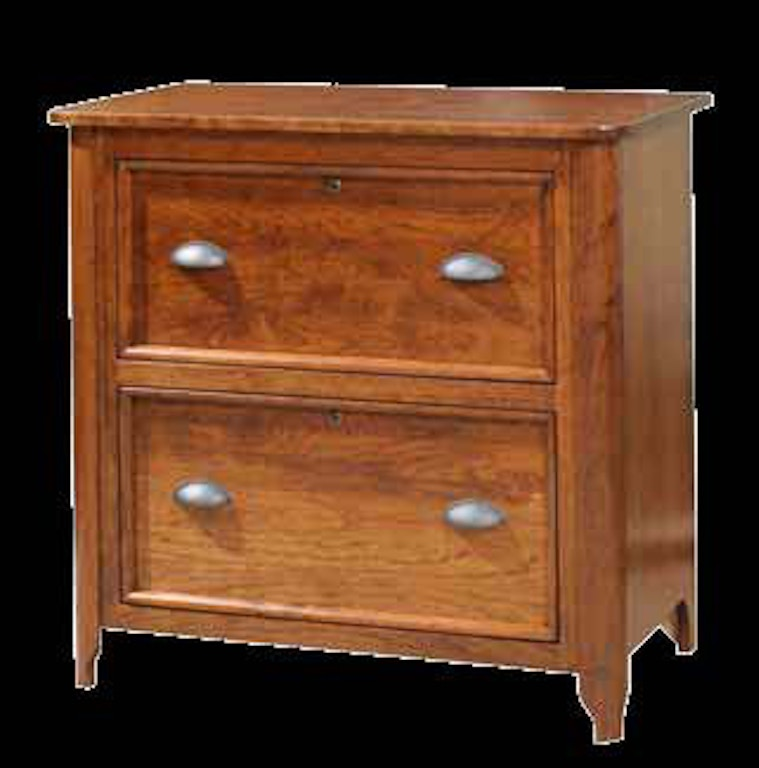 Yutzy Woodworking Home Office 2 Drawer Lateral File Cabinet 88223 Furnish Raleigh Nc