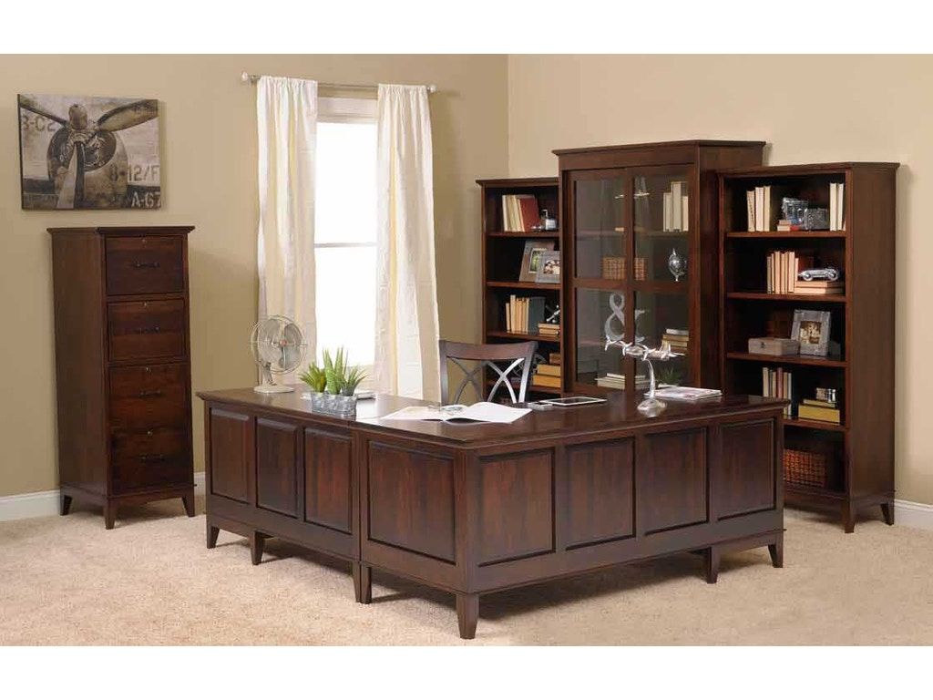 Yutzy Woodworking Home Office 4 Drawer File Cabinet 88120