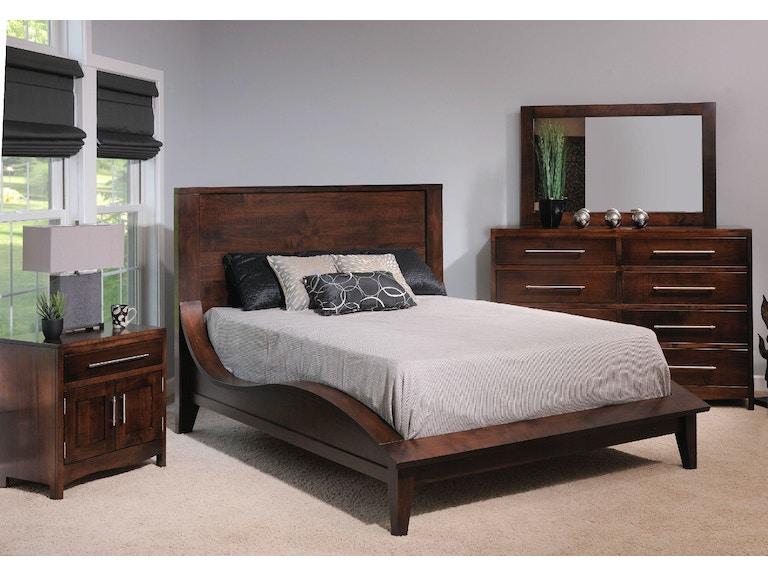YUTZY WOODWORKING Bedroom Coronado Bed 61100 - Whitley Furniture ...