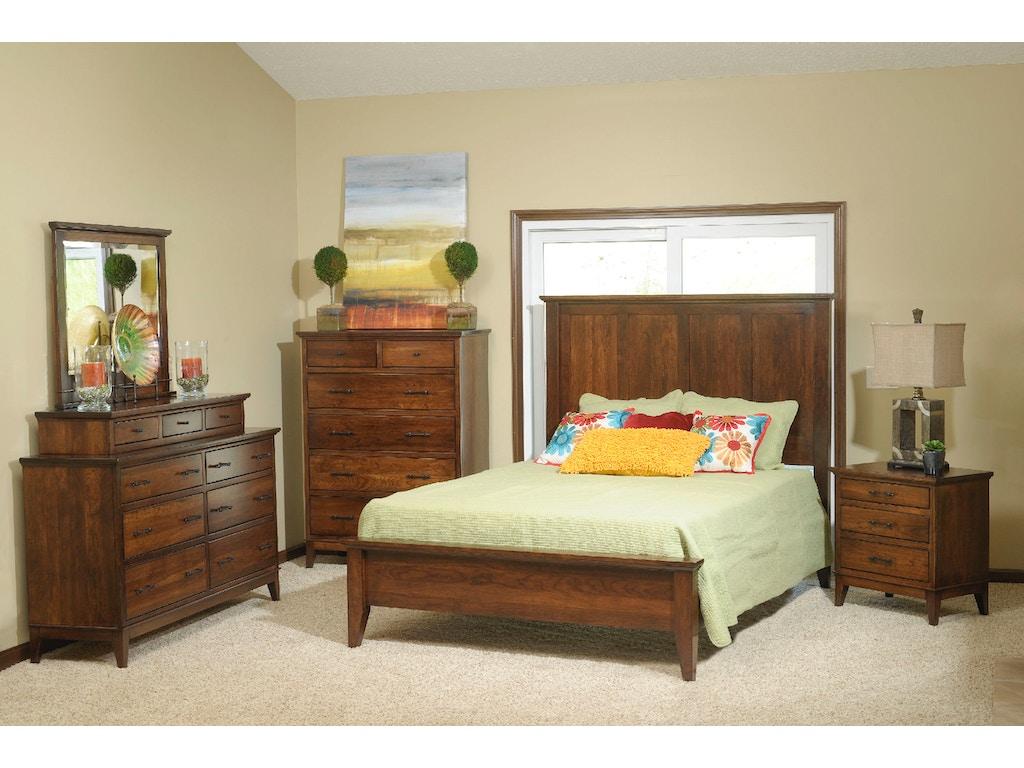 Yutzy Woodworking Bedroom Cortland Nightstand 1960 La