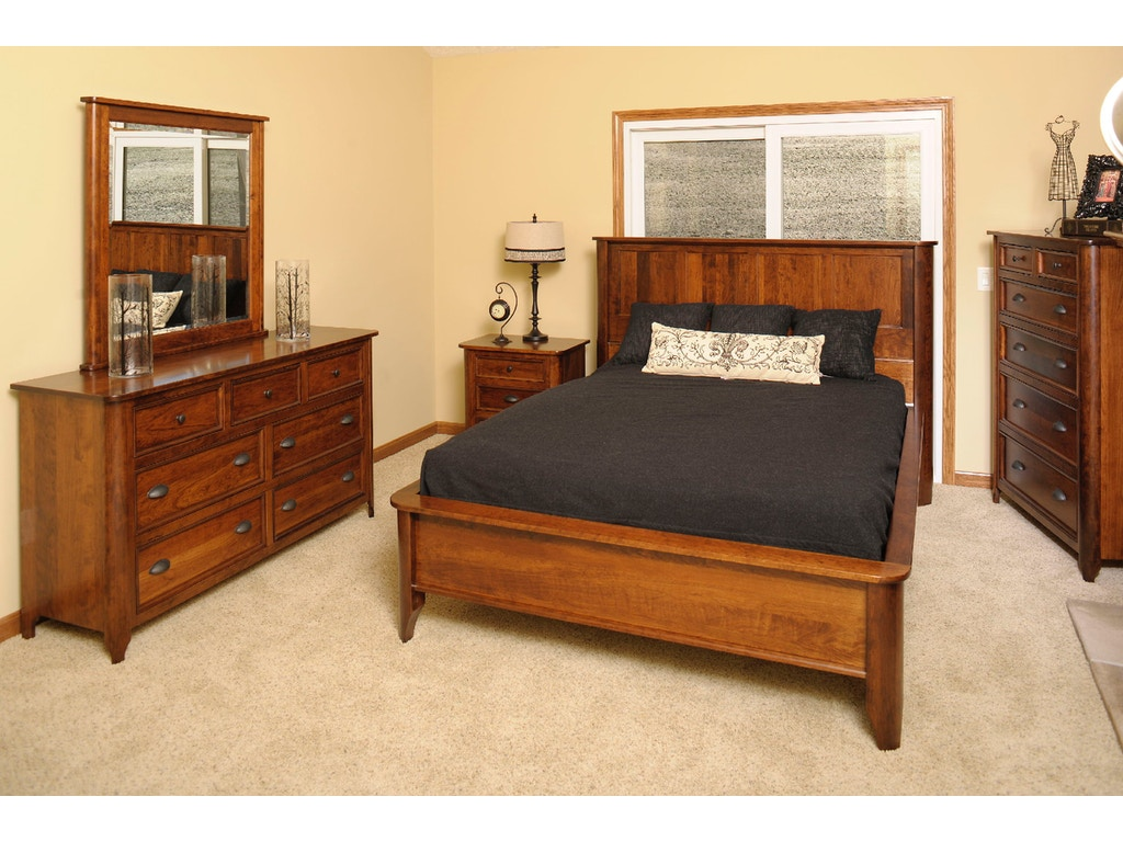 Yutzy Woodworking Bedroom Hudson Bed 1442 Whitley