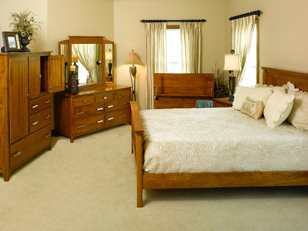 Yutzy Woodworking Bedroom English Shaker Bed 39132