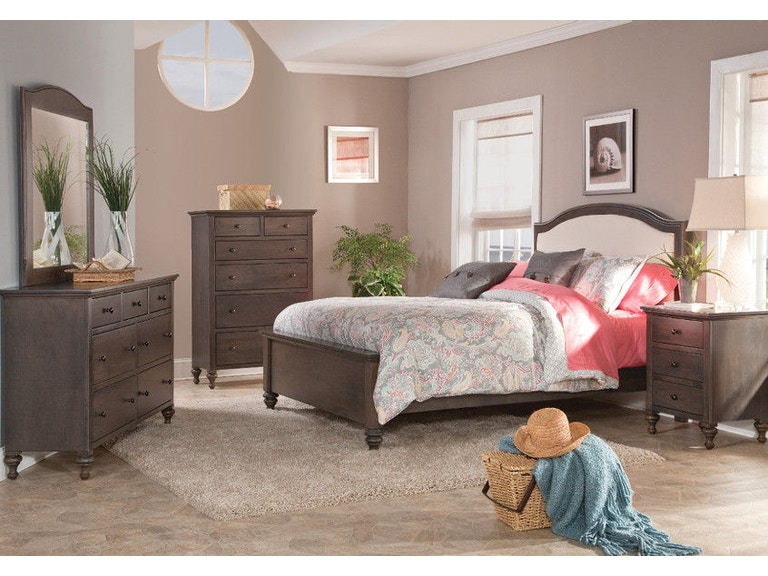 Yutzy Woodworking Bedroom Upholstered Bed 80151 Whitley Furniture Galleries Raleigh Nc