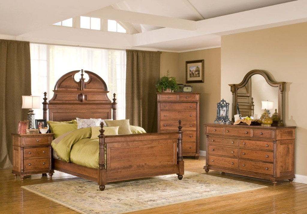Yutzy Woodworking Bedroom Manor Bed 29101 Whitley Furniture Galleries Raleigh Nc